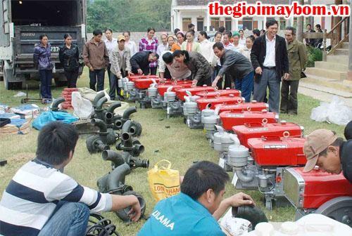 Cách sử dụng máy bơm nước hiệu quả
